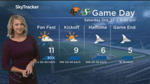 3-day forecast: Saturday showers clear by kickoff